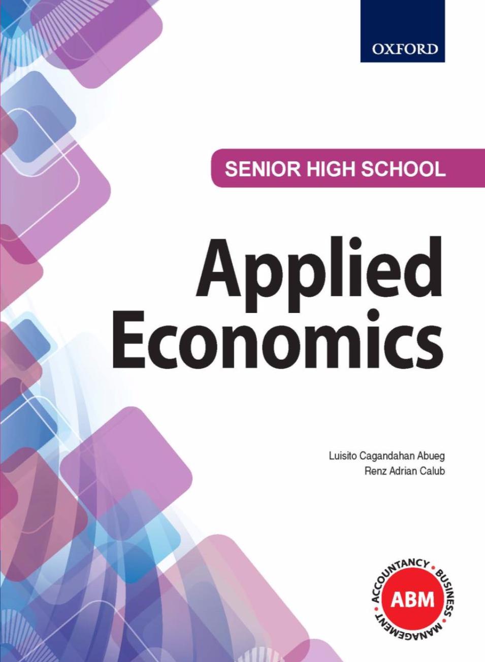SHS Applied Economics